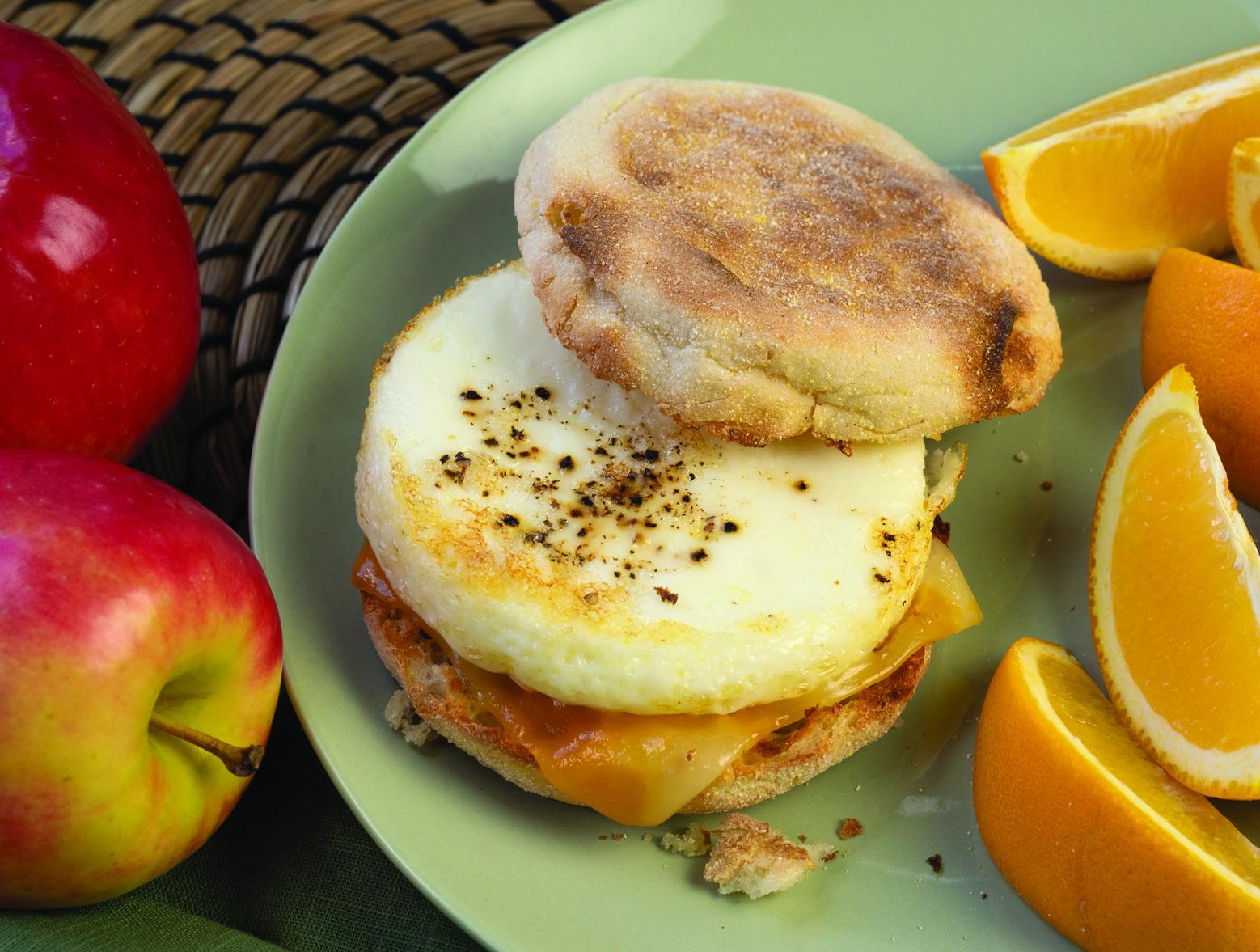 photo of prepared Easy Make-Ahead Breakfast Sandwiches recipe