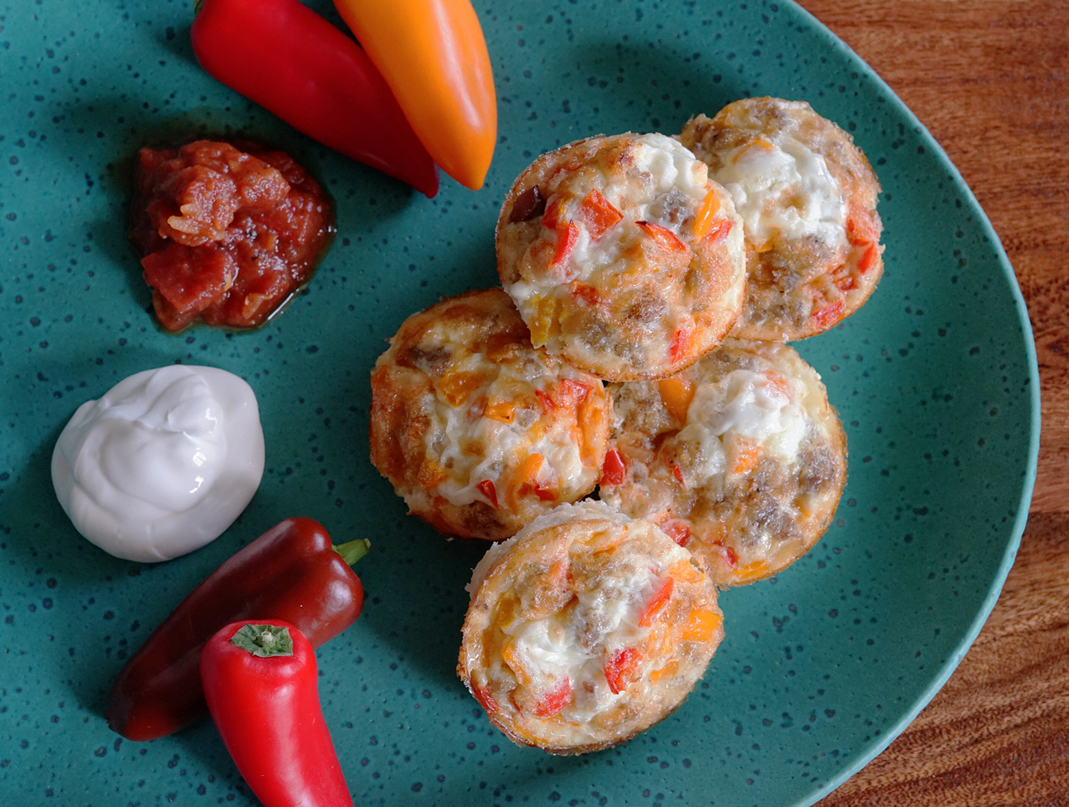 photo of prepared Easy and Healthy Mexican Breakfast Cups recipe