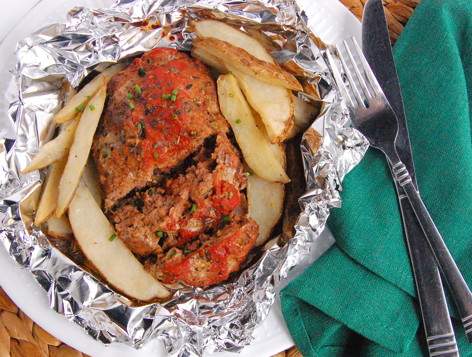 photo of prepared Italian Meat Loaf Packets recipe