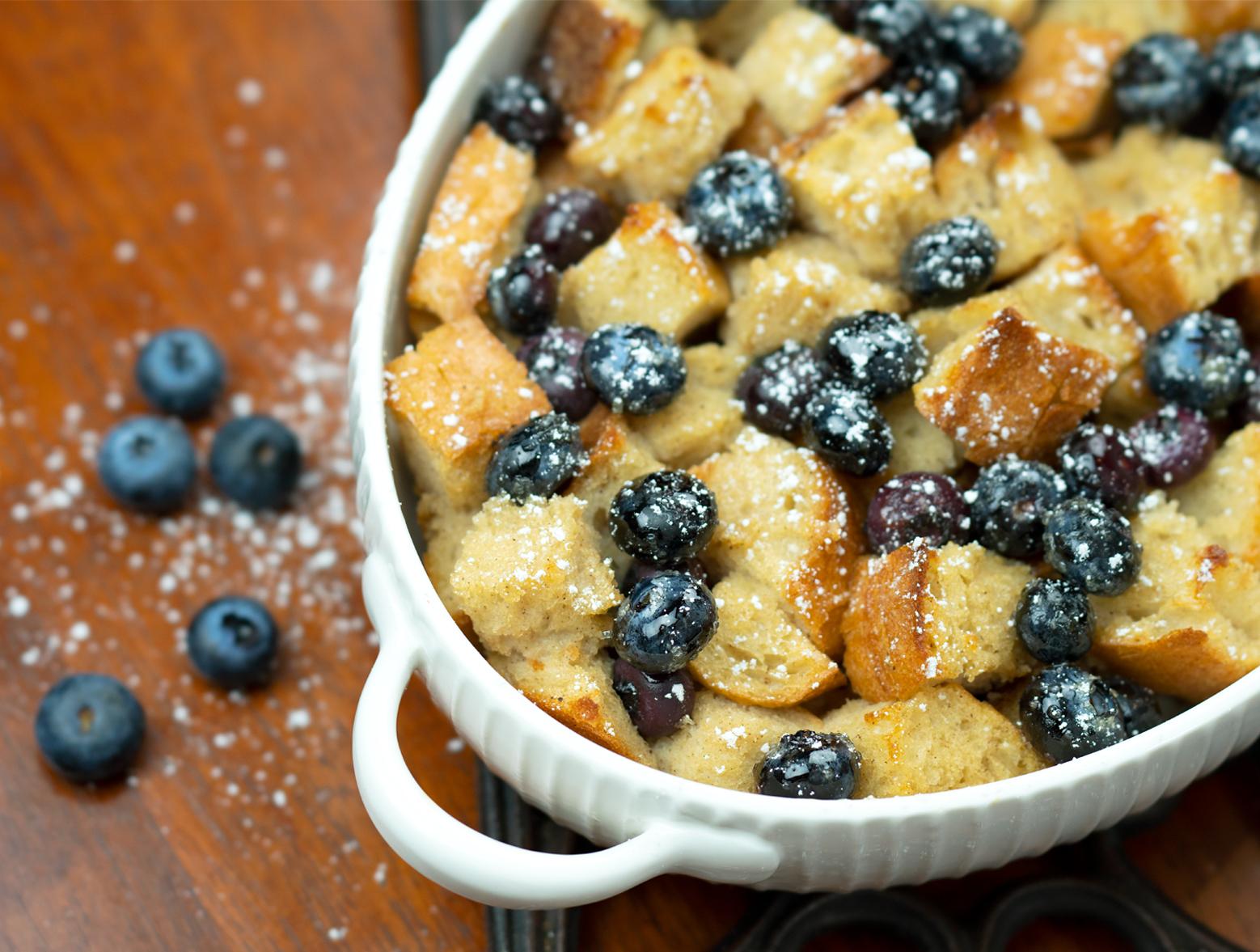 photo of Overnight Blueberry French Toast Casserole