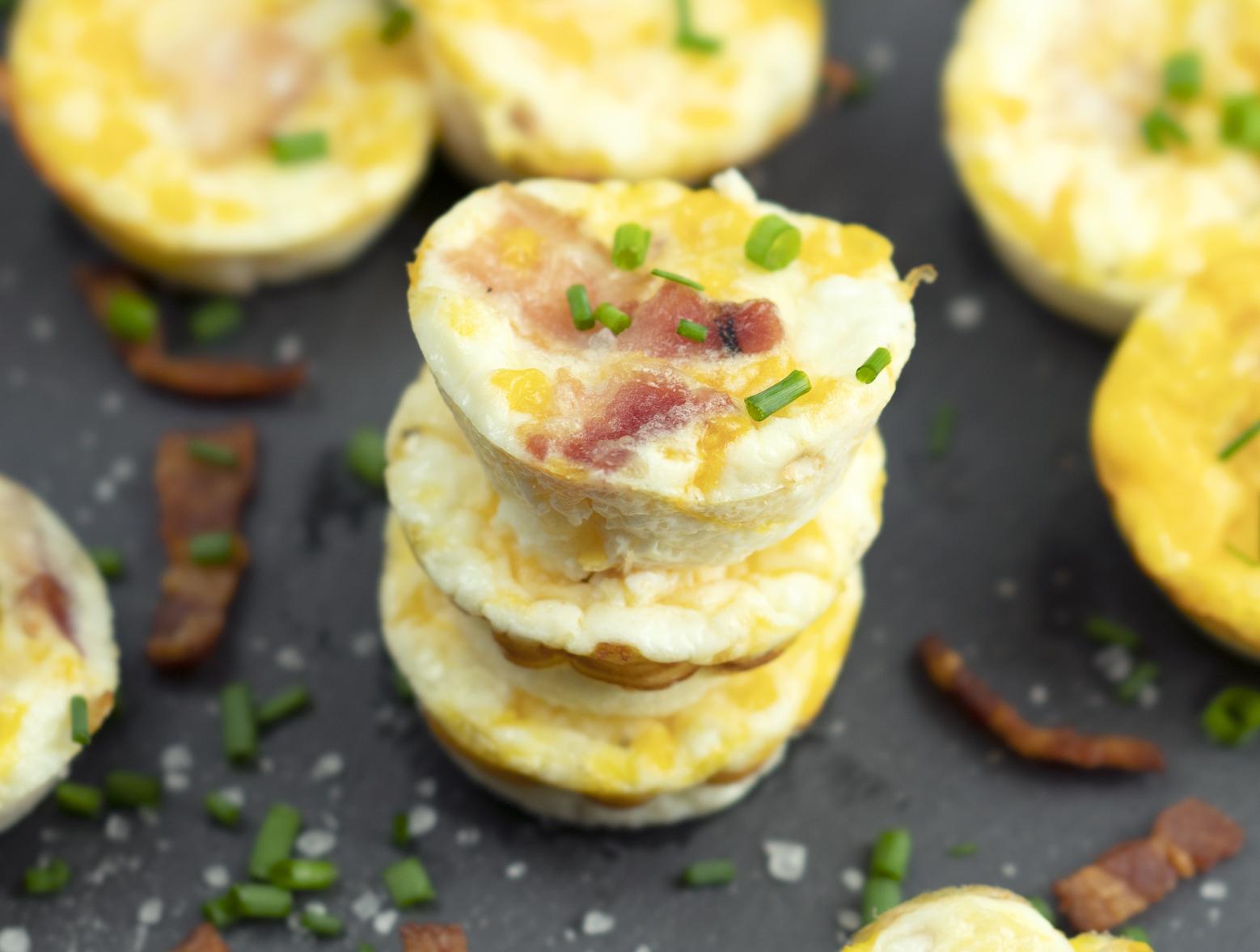 photo of prepared Mini Bacon Egg Muffins recipe